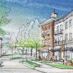 Delaware County - Evans Farms nnnn retail residential development