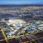 Triple Net retail restaurant lease development LA Rams